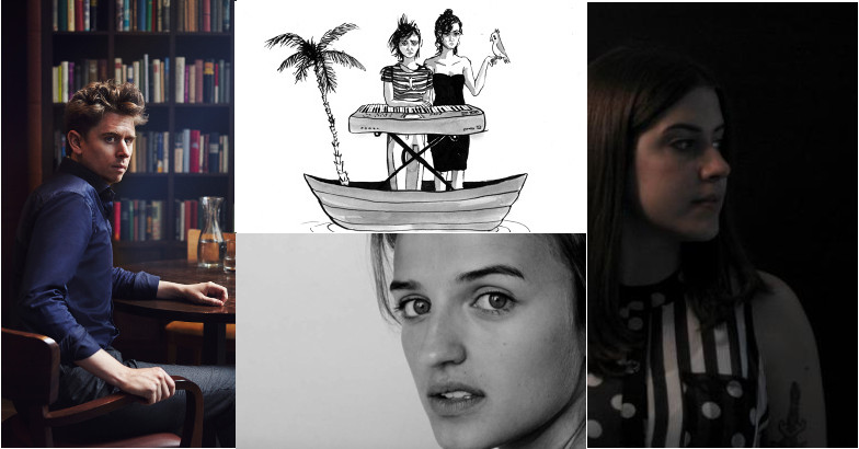Foto-Collage: Michael Fehr,  Cruise Ship Misery, Selma Imhof, Baba Lussi