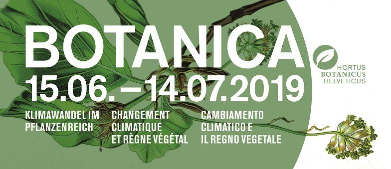 Logo: BOTANICA 2019