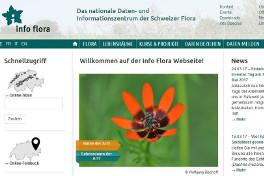 Info Flora Website